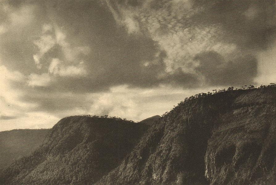 Associate Product CHILE. Cordon de Chilpa 1932 old vintage print picture