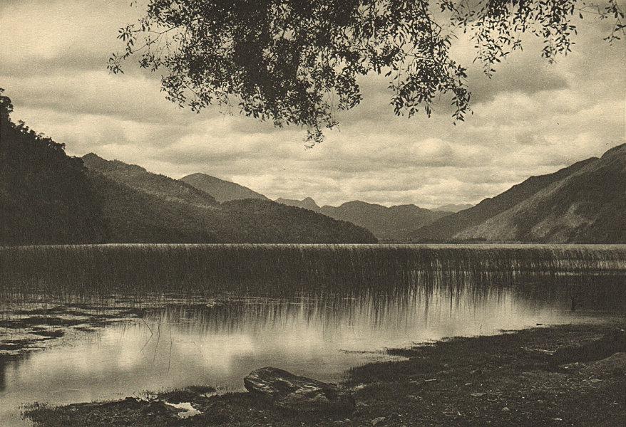 Associate Product CHILE. Lago Neltume. Lake Neltume 1932 old vintage print picture