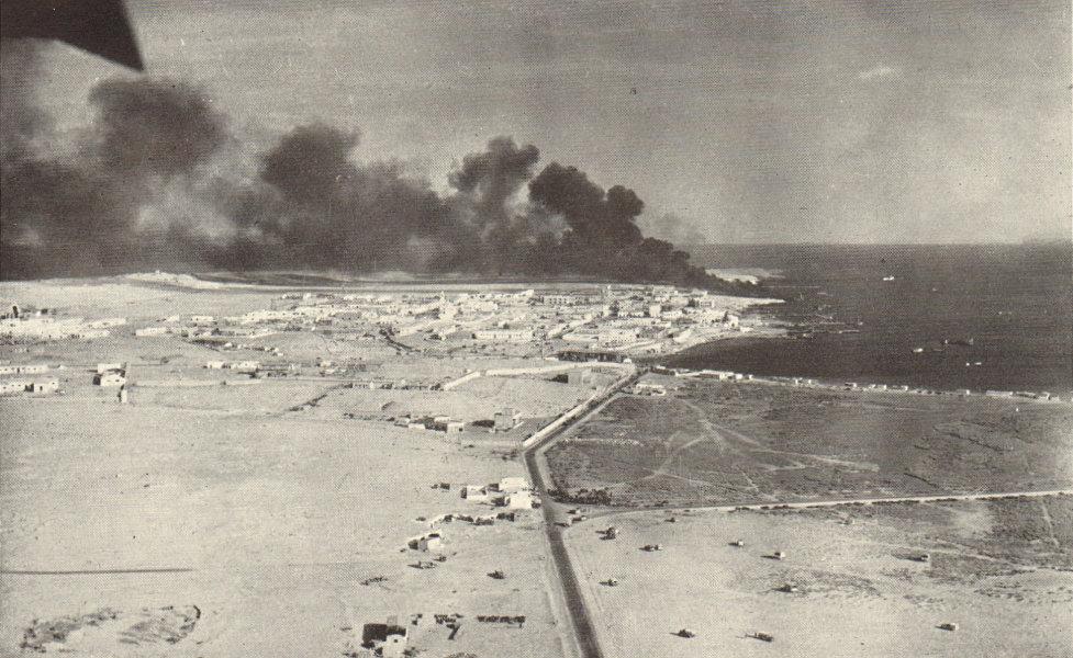 Associate Product Tobruk January 1941. Operation Compass. San Giorgio. World War 2 RAF Libya 1953