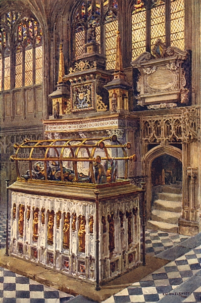 Associate Product The Beauchamp Chapel Tombs of founder & Robert Dudley, Warwick. Haslehust 1920
