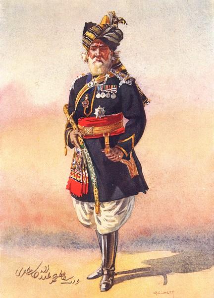 Associate Product INDIA. 15th Lancers(Cureton's Multanis)Nawab Hafiz Muhammad Abdullah Khan 1911