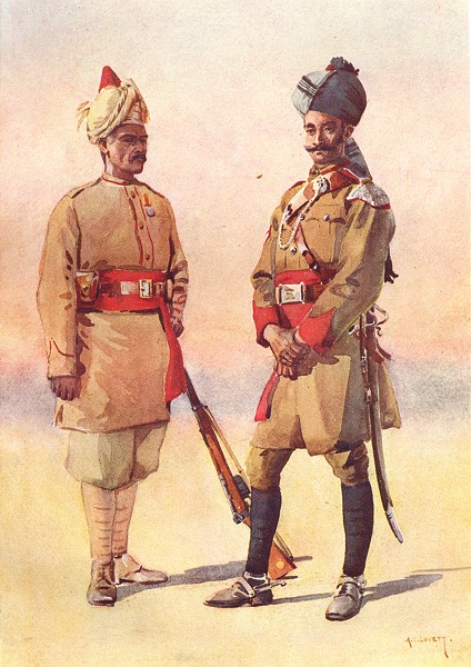 Associate Product QUEEN GUIDE CORPS. Lumsden Tanaoli(Pathan); Cav. Daffadar Adam Khel Afridi 1911