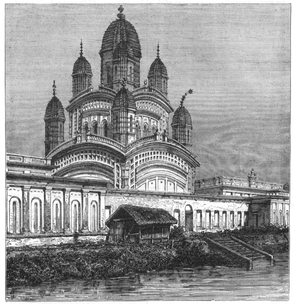 Associate Product INDIA. Great Mosque, Hooghly, Calcutta(Kolkata) c1880 old antique print