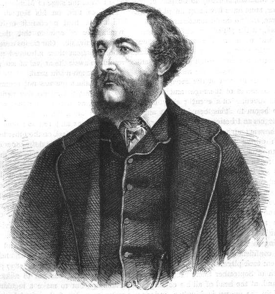 Associate Product PAKISTAN. Portrait of Sir Herbert Edwardes c1880 old antique print picture