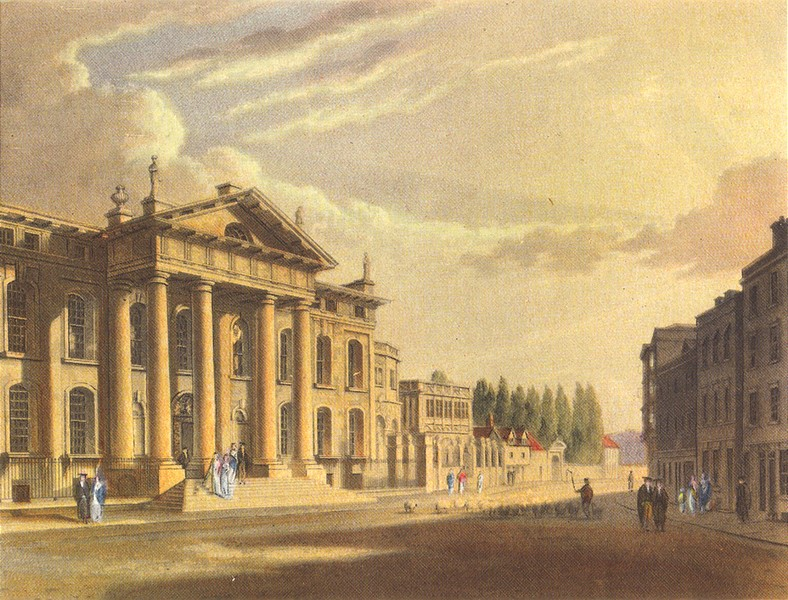 Associate Product OXFORD. The Clarendon Building 1954 old vintage print picture