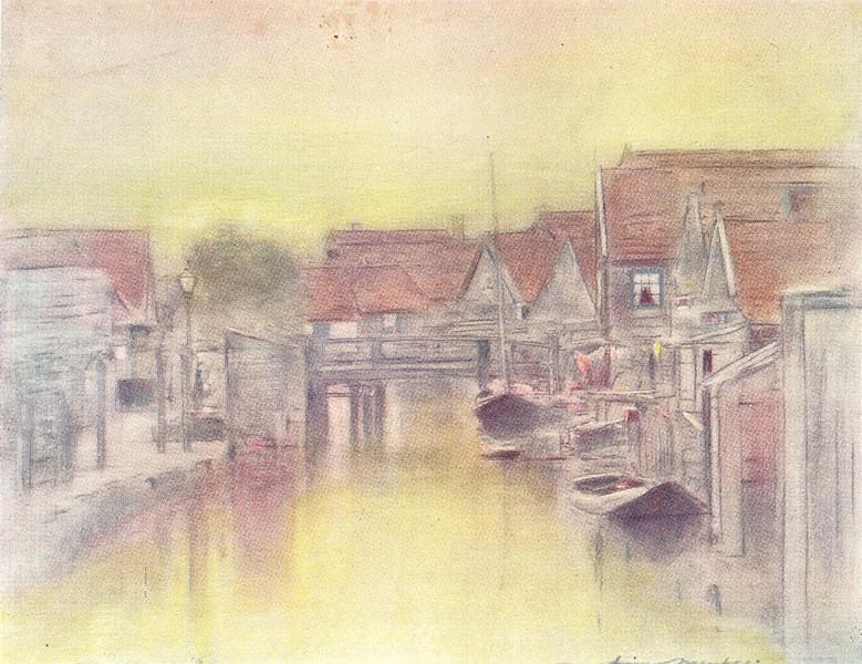 Associate Product NETHERLANDS. Holland. Edam, Holland 1920 old vintage print picture
