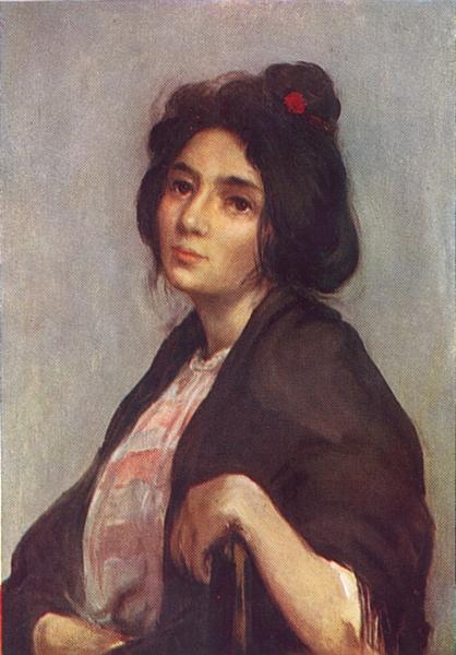 Associate Product VENICE. Masons-Painters-Glass-workers-Printers. A Venetian woman 1930