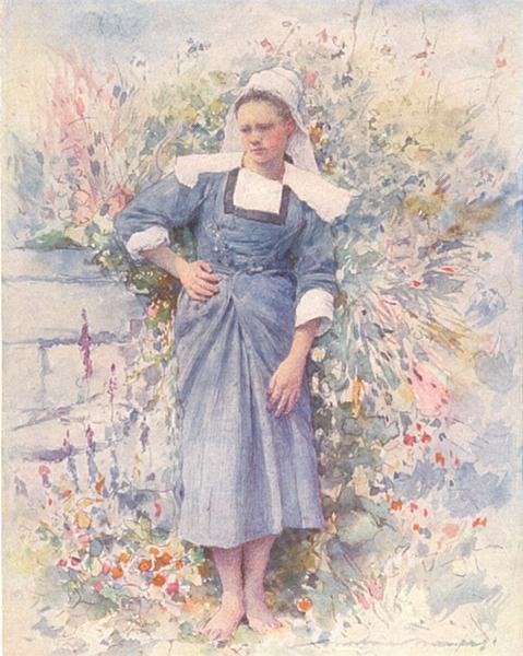Associate Product MORBIHAN BRITTANY BRETAGNE. La Petite Marie 1905 old antique print picture