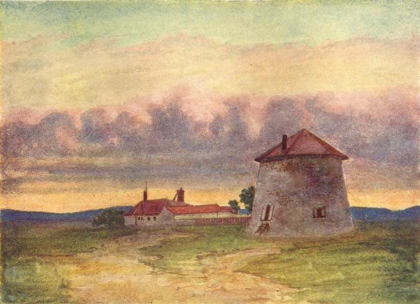 Associate Product CANADA. Quebec Lower St Lawrence Valley. Martello Tower, Plains Abraham 1907