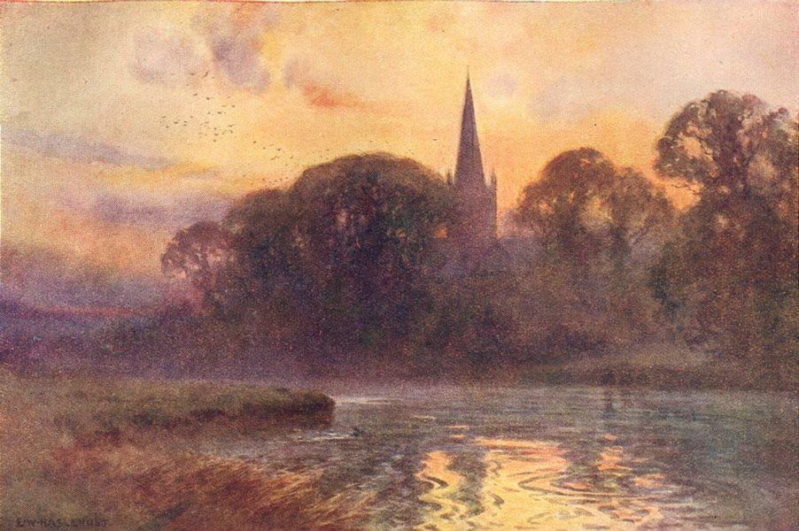 Associate Product Holy Trinity Church, Stratford-on-Avon. Warwickshire. By Ernest Haslehust 1920
