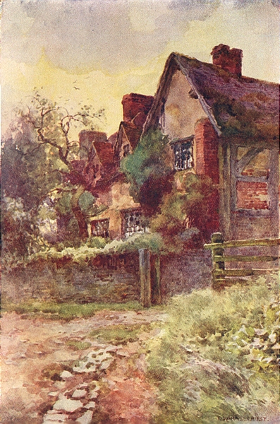 Associate Product Mary Arden's house, Stratford-on-Avon. Warwickshire. By Ernest Haslehust 1920