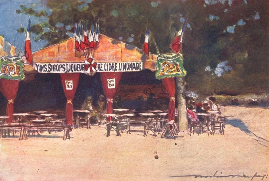Associate Product PARIS. Fete-Hotel des Invalides 1909 old antique vintage print picture