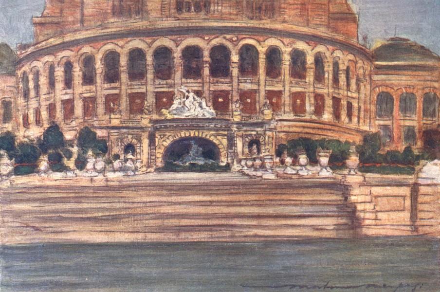 Associate Product PARIS. The Trocadero Palace 1909 old antique vintage print picture