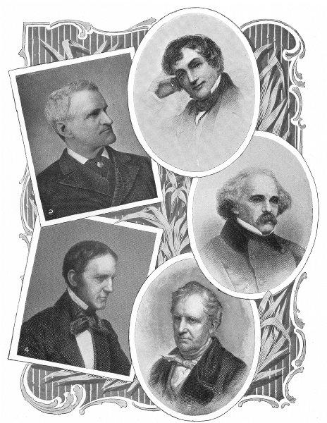 AUTHORS. Washington Irving; Parkman; Hawthorne; Prescott; Fenimore Cooper 1907