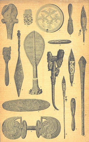 Associate Product ABORIGINAL. Marquesa Hervey Solomon is. New Guinea Obsidian Australia NZ 1907