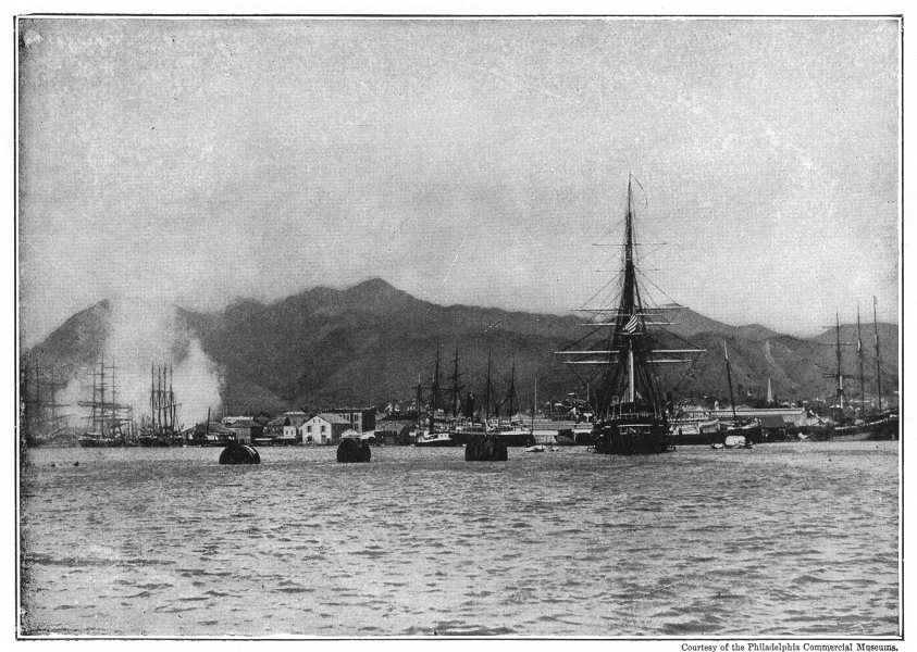 Associate Product HAWAII. The Harbor of Honolulu 1907 old antique vintage print picture