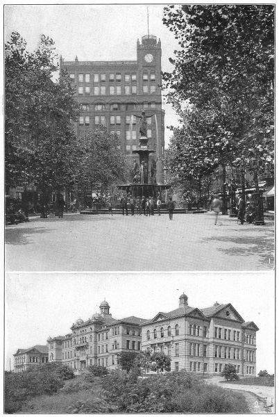 Associate Product OHIO. Cincinnati; 1 Fountain Sq. Tyler-Davidson; 2 University of Buildings 1907