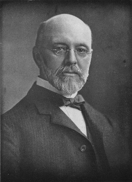Associate Product BALTIMORE. Dr Ira Remsen, new President, Johns Hopkins University 1907 print