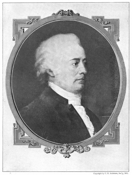 Associate Product JOHN RUTLEDGE. Chief Justice of US Supreme Court, 1795 1907 old antique print