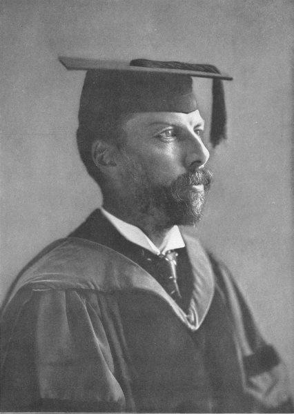 Associate Product CONNECTICUT. Arthur Twining Hadley; President Yale University 1907 old print