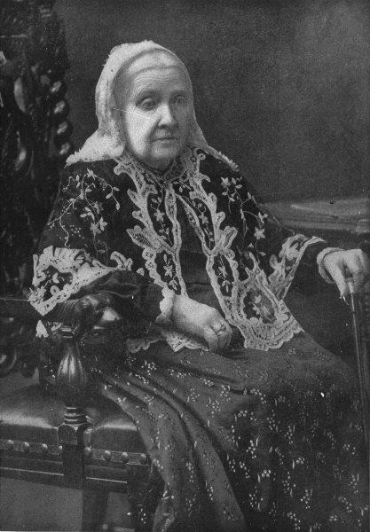 Associate Product POETS. Julia Ward Howe 1907 old antique vintage print picture
