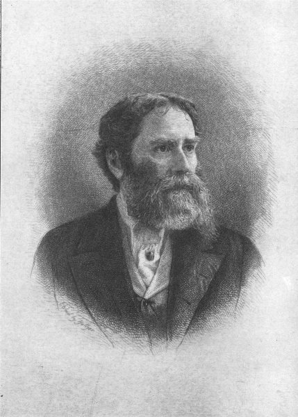 Associate Product POETS. James Russell Lowell 1907 old antique vintage print picture
