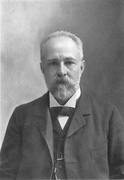 MEXICO. Leandro Fernandez, Secretary of Communications & Public works 1907