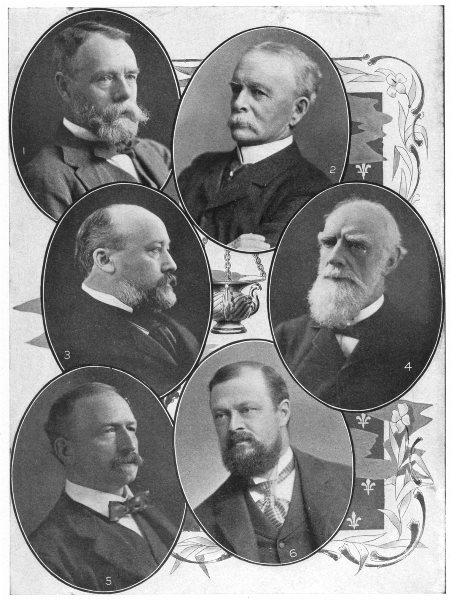 Associate Product CANADIANS. Stephen; Drummond; Van Horne; Strathcona; Shaughnessy; Hays 1907