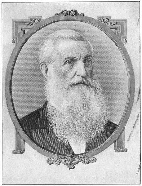Associate Product POLITICS. George Bancroft 1907 old antique vintage print picture