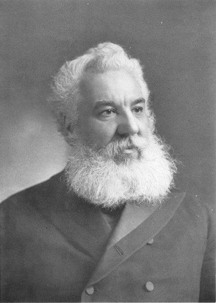 Associate Product INVENTORS. Alexander Graham Bell 1907 old antique vintage print picture
