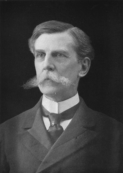 Associate Product OLIVER WENDELL HOLMES. Associate Justice of US 1907 old antique print picture