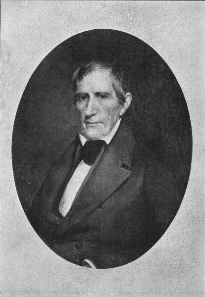 Associate Product WILLIAM HENRY HARRISON. Ninth President of the United States 1907 old print