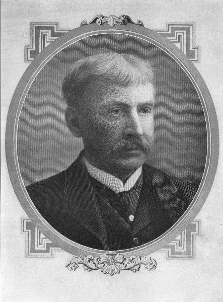 Associate Product AUTHORS. Bret Harte 1907 old antique vintage print picture