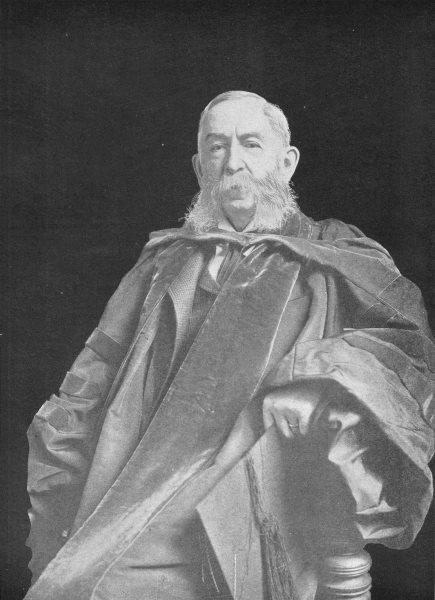 Associate Product ACADEMICS. Daniel Coit Gilman; President Carnegie Inst 1907 old antique print