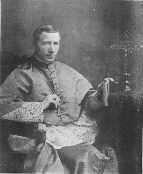 Associate Product MARYLAND. His Eminence James, Card Gibbons; Archbishop of Baltimore 1907 print