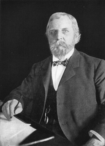 Associate Product POLITICS. Lyman Judson Gage, Ex-secretary, U S Treasury 1907 old antique print