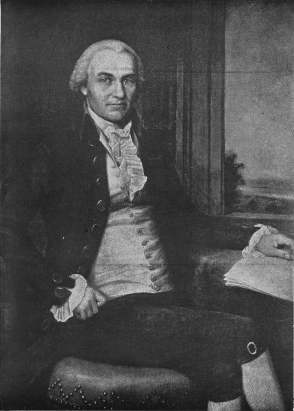 Associate Product OLIVER ELLSWORTH. Chief justice of US Supreme Court, 1796-1800 1907 old print
