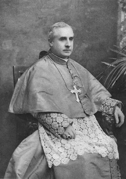 Associate Product MOST REVEREND JOHN M FARLEY, D D. Archbishop of New York 1907 old print