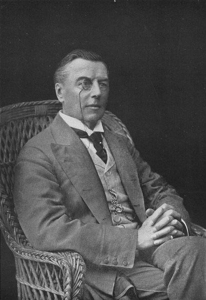 Associate Product POLITICS. Mr Joseph Chamberlain 1907 old antique vintage print picture