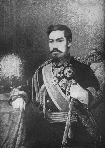 Associate Product JAPAN. His Imperial Majesty Mutsuhito, The Emperor of Japan 1907 old print