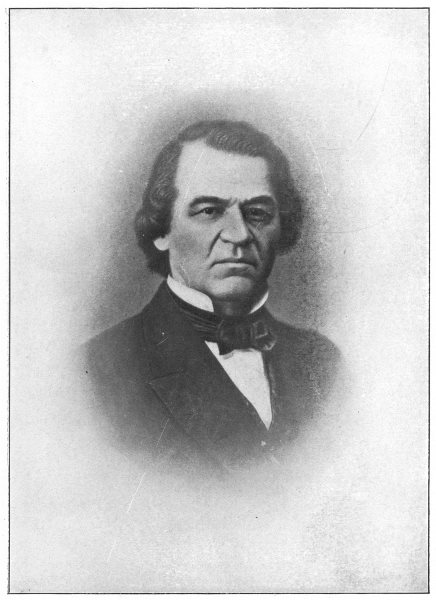 Associate Product ANDREW JOHNSON. Seventeenth President of the United States 1907 old print
