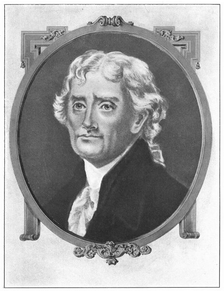 Associate Product THOMAS JEFFERSON. Third President of the United States 1907 old antique print