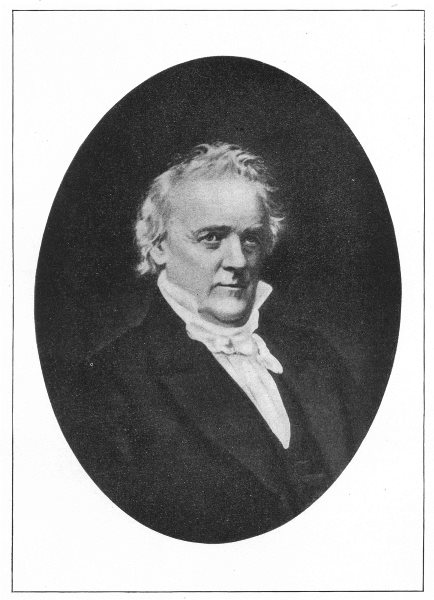 Associate Product JAMES BUCHANAN. Fifteenth President of the United States 1907 old print