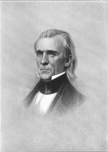 Associate Product JAMES K POLK. Eleventh President of the United States 1907 old antique print