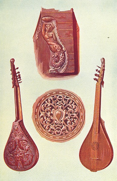Associate Product MUSICAL INSTRUMENTS. Cetera 1945 old vintage print picture