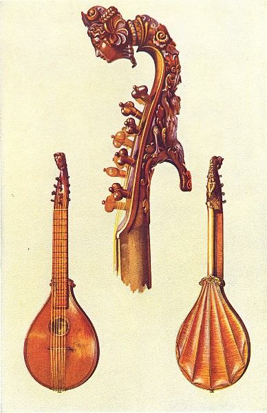 Associate Product MUSICAL INSTRUMENTS. Cetera, by Antonius Stradivarius 1945 old vintage print