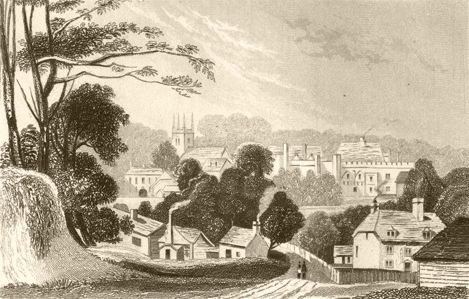 Associate Product KENT. Penshurst, Kent. DUGDALE 1845 old antique vintage print picture