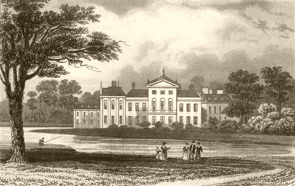 Associate Product LONDON. The Royal Palace, Kensington. DUGDALE 1845 old antique print picture