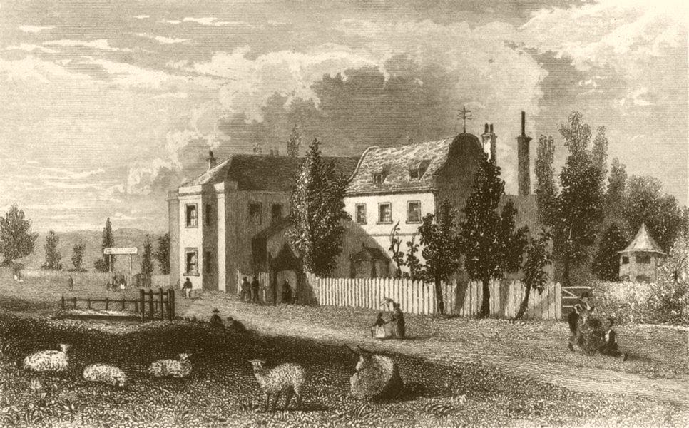 Associate Product LONDON. Copenhagen house, Islington. DUGDALE 1845 old antique print picture