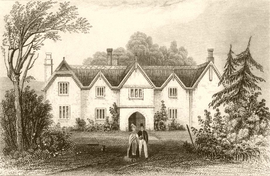 Associate Product LONDON. Haye's farm, East Budleigh, Devon. DUGDALE 1845 old antique print